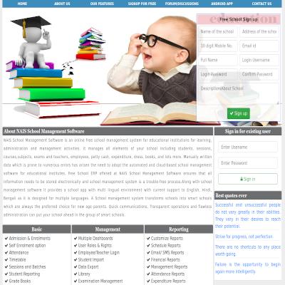 School Information Portal